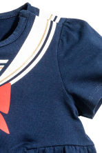 Jersey dress - Dark blue - Kids | H&M 3